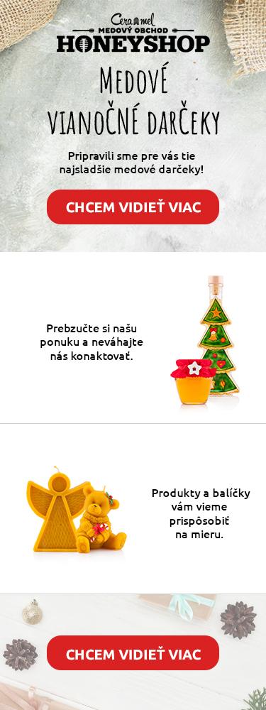 Medové vianočné darčeky